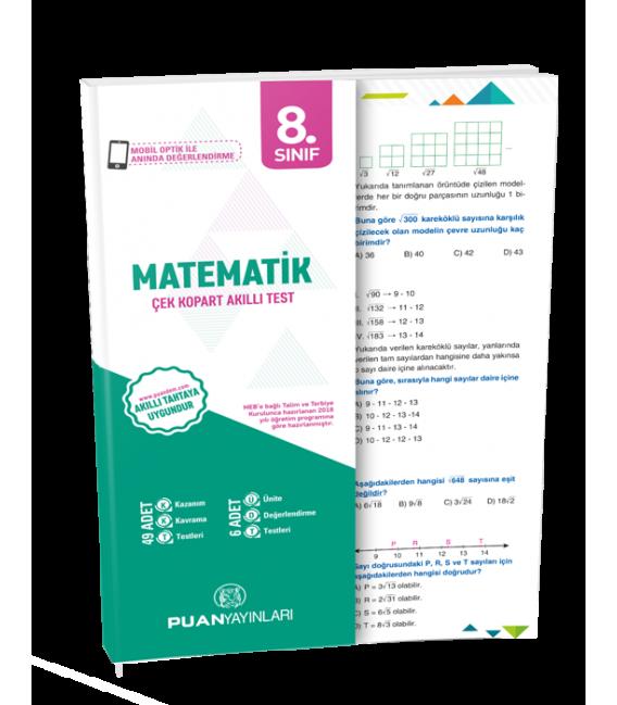 Puan Yayınları 8. Sınıf Matematik Akıllı Test