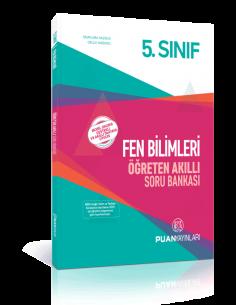 Puan Yayınları 5. Sınıf Fen Bilimleri Öğreten Akıllı Soru Bankası