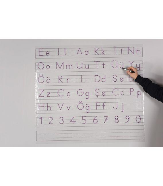 Akıllı Kağıt ELAKİN Temel Harfler Tahtası