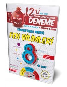 More about Nartest 8. Sınıf Fen Bilimleri 12 Deneme Sınavı (7 Sarmal + 5 Genel)