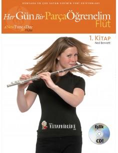Her Gün Bir Parça Öğrenelim Flüt 1.Kitap - Porte Müzik Yayınları