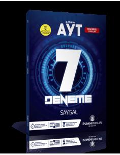 Puan Yayınları AYT Sayısal Video Çözümlü 7 Deneme