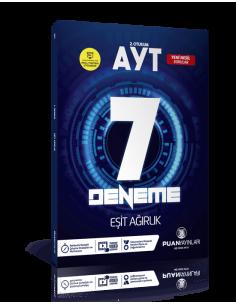 Puan Yayınları AYT Eşit Ağırlık Video Çözümlü 7 Deneme