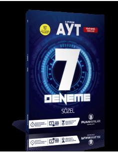 Puan Yayınları AYT Sözel Video Çözümlü 7 Deneme