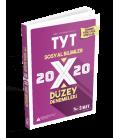 Sınav Yayınları TYT Sosyal Bilimler 20x20 Düzey Denemeleri
