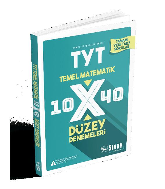 Sınav Yayınları TYT Matematik 10x40 Düzey Denemeleri