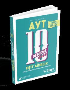 Sınav Yayınları AYT Eşit Ağırlık 10 Deneme Seti