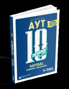 Sınav Yayınları AYT Sayısal 10 Deneme Seti
