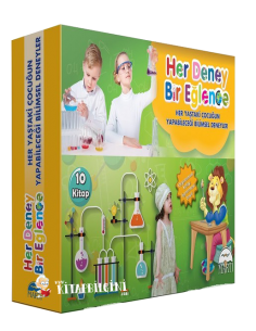 Her Deney Bir Eğlence Serisi (10 Kitap) - Martı Yayınları