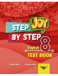 Step By Step Joy 8.Sınıf English Test Book