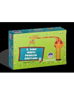 Martı Problem Kartları 2. Sınıf - Martı Yayınları