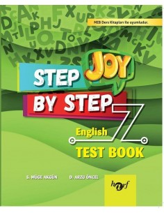 Step By Step Joy 7.Sınıf English Test Book