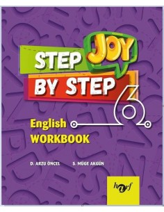 Step By Step Joy 6.Sınıf English Workbook