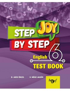 Step By Step Joy 6.Sınıf English Test Book
