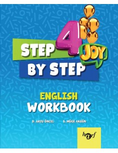 Step By Step Joy 4.Sınıf English Workbook
