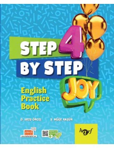 Step By Step Joy 4.Sınıf English Practice Book