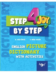 Step By Step Joy 3.Sınıf English Picture Dictionary With Activities
