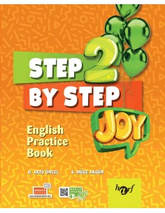 Step By Step Joy 2.Sınıf English Practice Book