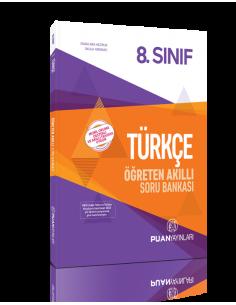 Puan Yayınları 8. Sınıf Türkçe Öğreten Akıllı Soru Bankası