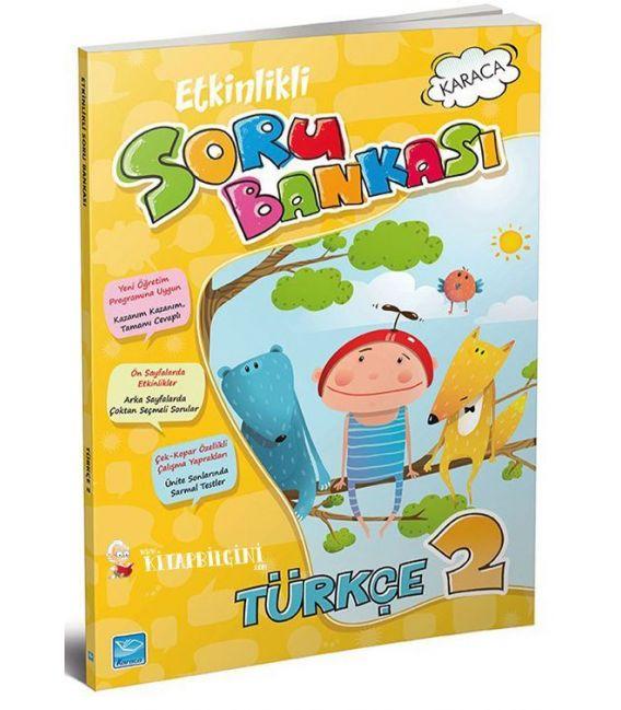 Koza Karaca Yayınları 2. Sınıf Türkçe Etkinlikli Soru Bankası
