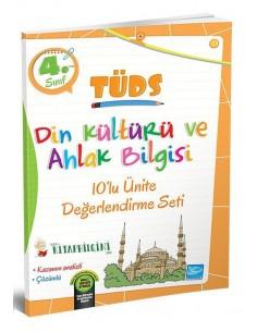Koza Karaca 4. Sınıf TÜDS Din Kültürü 10'lu Ünite Değerlendirme Seti