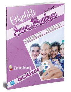 Koza Karaca Yayınları 8. Sınıf İngilizce Etkinlikli Soru Bankası