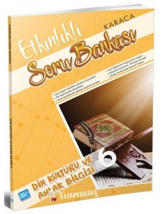 Koza Karaca Yayınları 6. Sınıf Din Kültürü Etkinlikli Soru Bankası