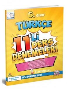 Koza Yayınları 6. Sınıf Türkçe 11'li Ders Denemeleri
