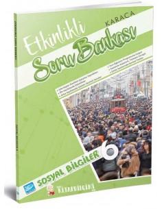 Koza Karaca Yayınları 6. Sınıf Sosyal Bilgiler Etkinlikli Soru Bankası