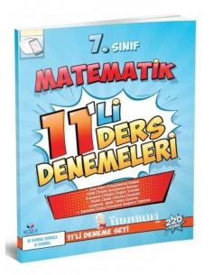 Koza Yayınları 7. Sınıf Matematik 11'li Ders Denemeleri