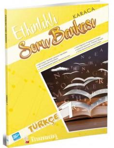 Koza Karaca Yayınları 7. Sınıf Türkçe Etkinlikli Soru Bankası
