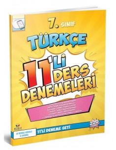 Koza Yayınları 7. Sınıf Türkçe 11'li Ders Denemeleri