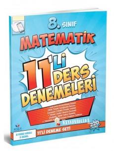 Koza Yayınları 8. Sınıf Matematik 11'li Ders Denemeleri