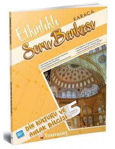 Koza Karaca Yayınları 5. Sınıf Din Kültürü Etkinlikli Soru Bankası