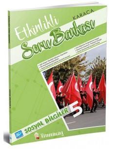 Koza Karaca Yayınları 5. Sınıf Sosyal Bilgiler Etkinlikli Soru Bankası