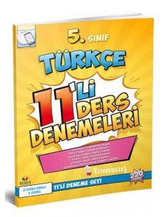 Koza Yayınları 5. Sınıf Türkçe 11'li Ders Denemeleri