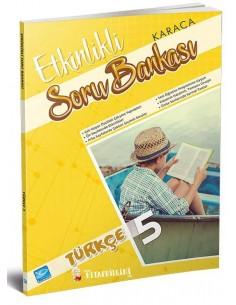 Koza Karaca Yayınları 5. Sınıf Türkçe Etkinlikli Soru Bankası