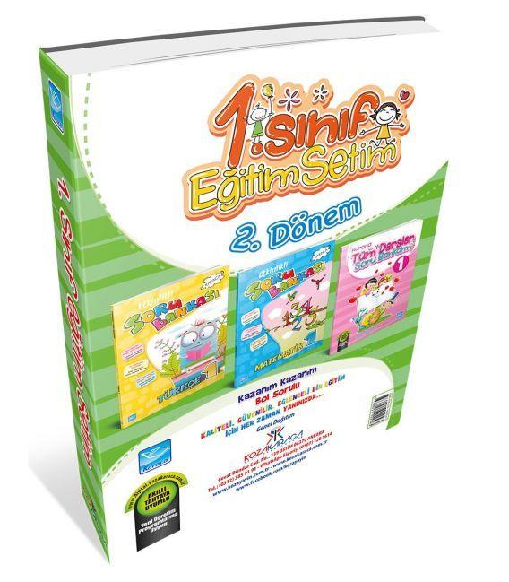 Koza Karaca Yayınları 1.Sınıf Karaca Eğitim Setim (2. Dönem)