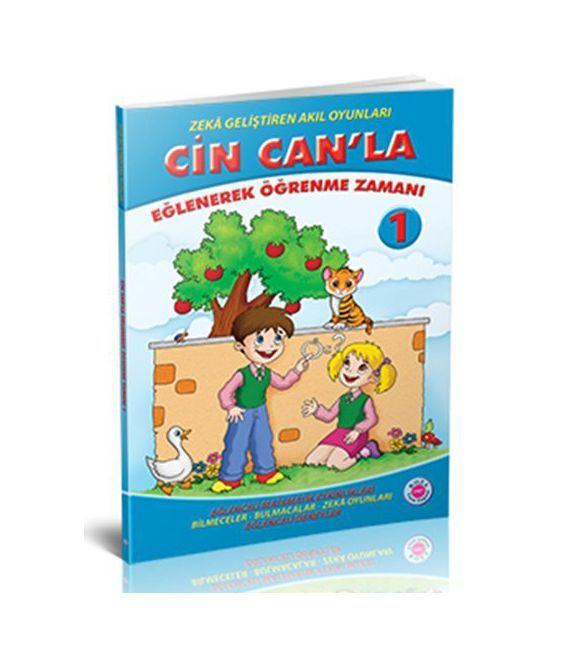 Koza Yayınları 1. Sınıf Cin Can'la Eğlenerek Öğrenme Zamanı
