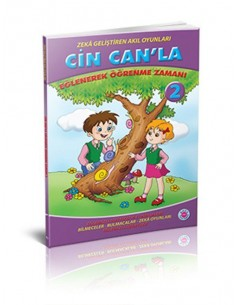 Koza Yayınları 2. Sınıf Cin Can'la Eğlenerek Öğrenme Zamanı