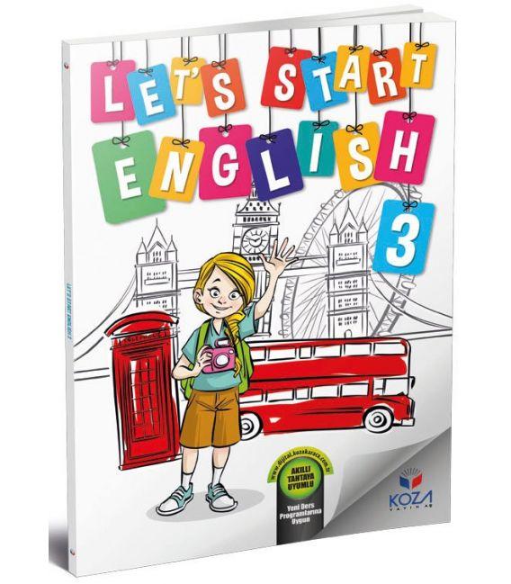 Koza Yayınları 3. Sınıf Let's Start English