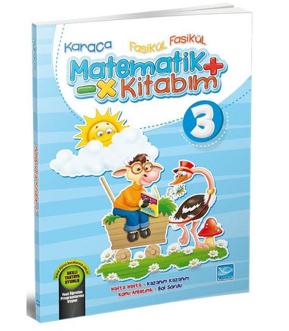 Koza Karaca Yayınları 3. Sınıf Fasikül Fasikül Matematik Kitabım