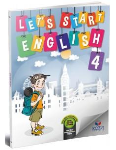 Koza Yayınları 4. Sınıf Let's Start English