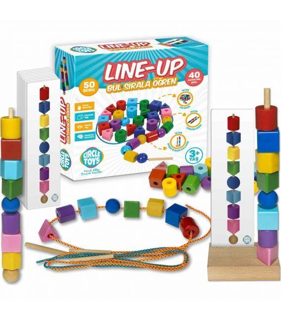Circle Toys Line-Up Bul Sırala Öğren