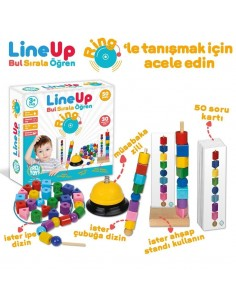 More about Circle Toys Line-Up Bul Sırala Öğren Ring