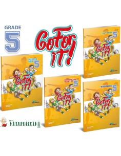 KRC Publishing 5. Sınıf Go For It! - Grade 5 Set (4 Kitap)