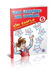 Koza Yayınları 5. Sınıf Cin Can'la Eğlenerek Öğrenme Zamanı
