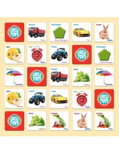 Circle Toys Match Up Eşleştirme Kartları