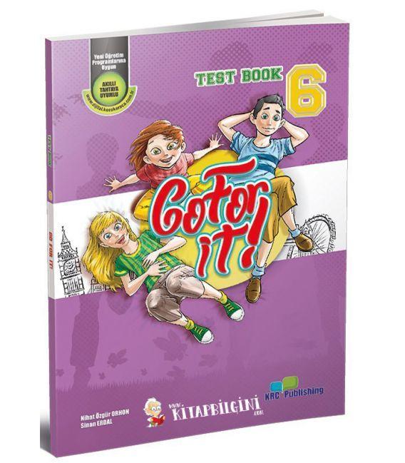 KRC Publishing 6. Sınıf Go For It! - Test Book