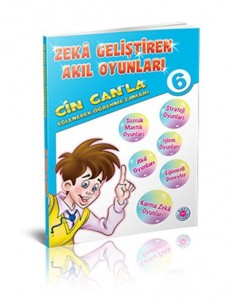 Koza Yayınları 6. Sınıf Cin Can'la Eğlenerek Öğrenme Zamanı